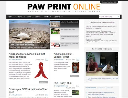 Staff reviews a year of big changes at the Paw Print