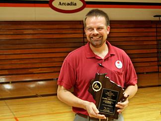 Markhardt Named Wisconsin's Top HS Teacher