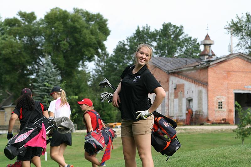 Girls Golf at Whitehall