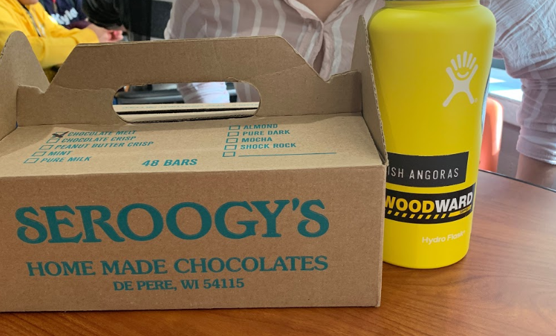 National Honors Society raises funds with the annual Seroogy chocolate sale