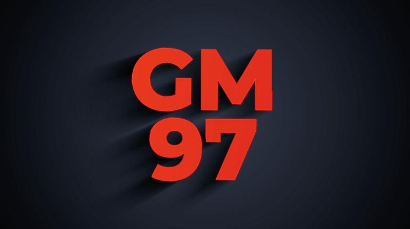 GM97 Logo Intro