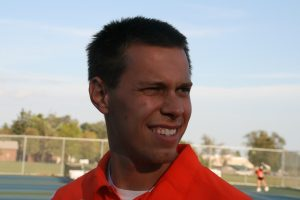 Three-sport coach and science teacher takes on boys tennis this spring.