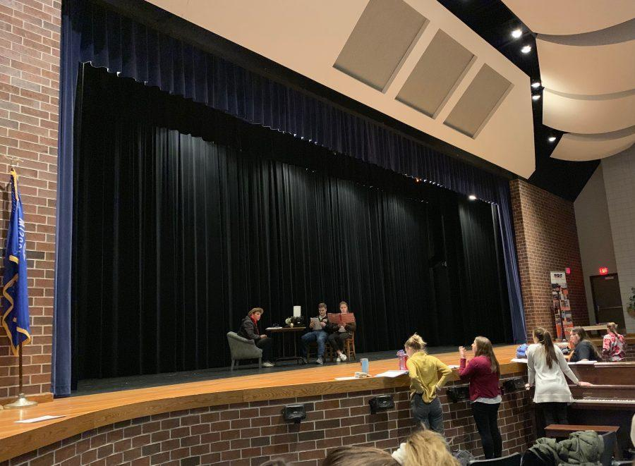 Musical students scramble to learn choreography in time for opening night