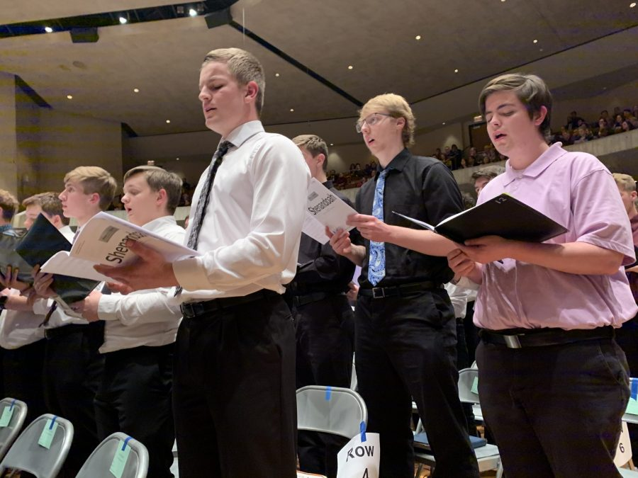 Students+Travel+To+Iowa+For+Choir+Festival