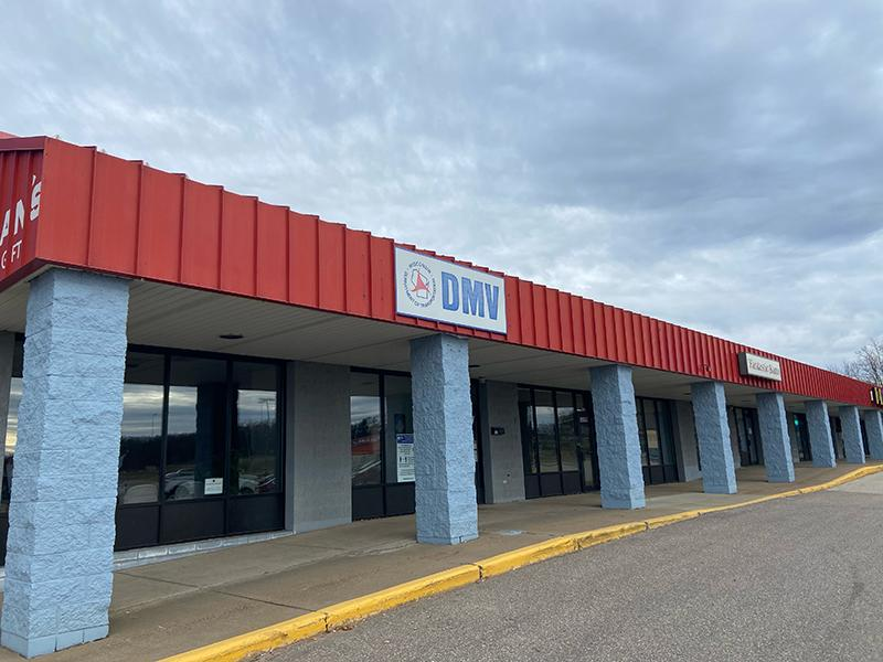 Image of the outside of the BRF DMV location